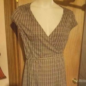 Ann Taylor LOFT Wrap Around Dress